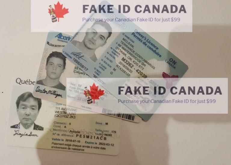 Fake ID Canada